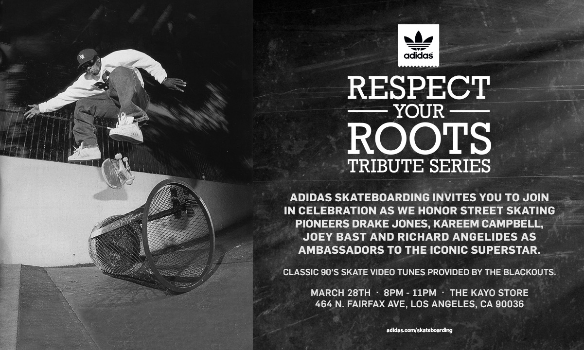Preview: adidas Skateboarding Superstar Respect Your Roots