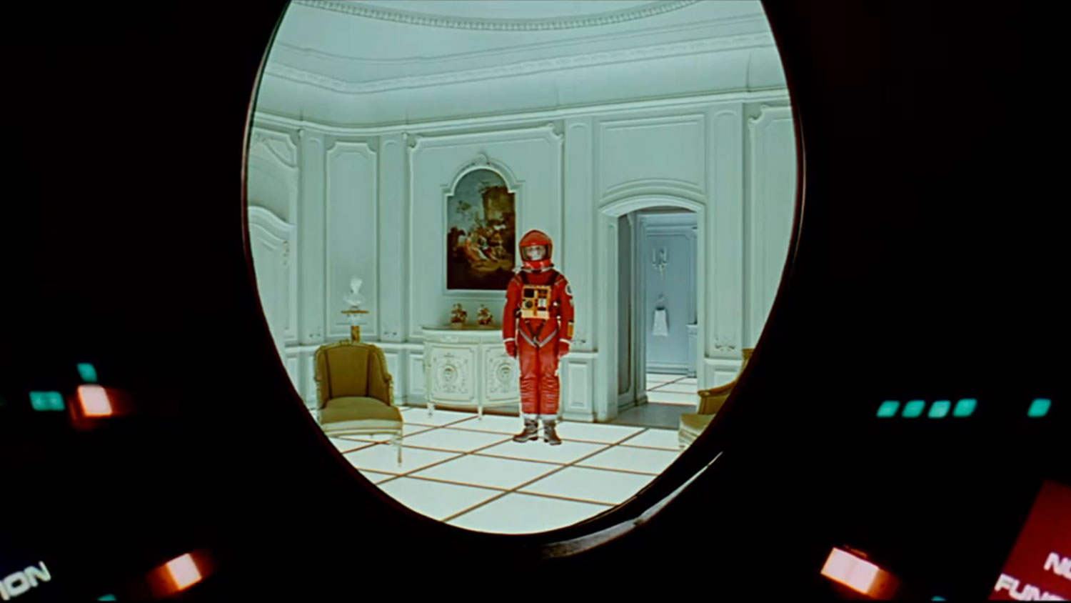 an analysis of final scene in a space odyssey made in 1968 2001: a space odyssey is an epic science fiction film (1968) 1, 2, 3 directed by stanley kubrick and based on arthur c clarke's short story, the sentinel (1948) 4 in clarke's tale, a crystal pyramid placed on the moon long ago by an advanced extraterrestrial race serves to notify its creators when it is finally disturbed by explorers from.