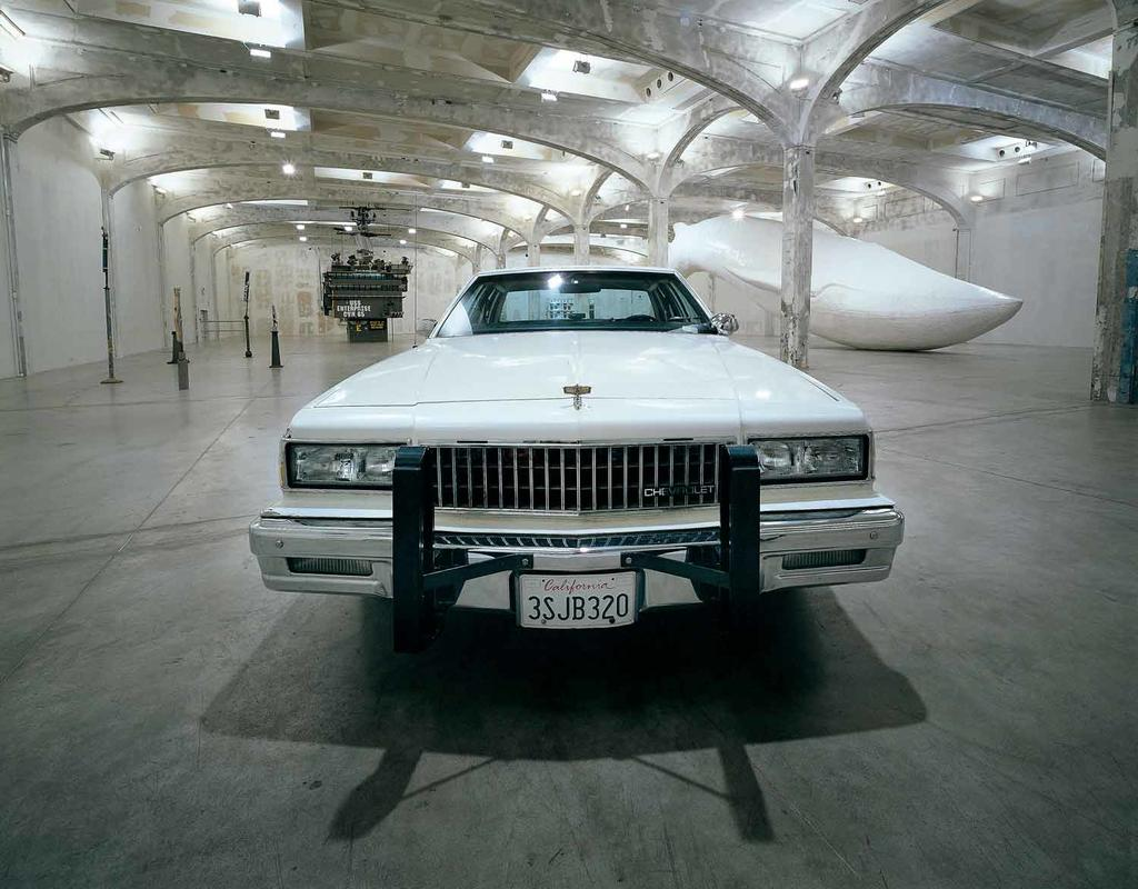 untitled (1989 chevy caprice), 1987-2007, mixed media, 142.2 X 538.5 X 200.7 cm
