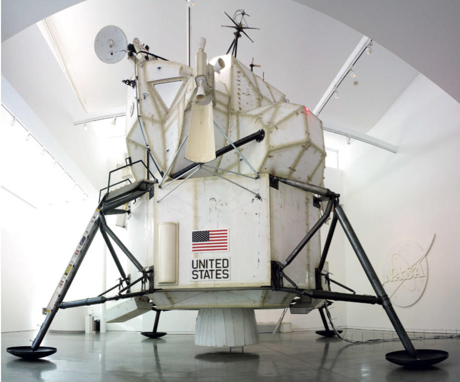 2007.014 LEM (lunar excursion module), 2007 mixed media, 276 in tall
