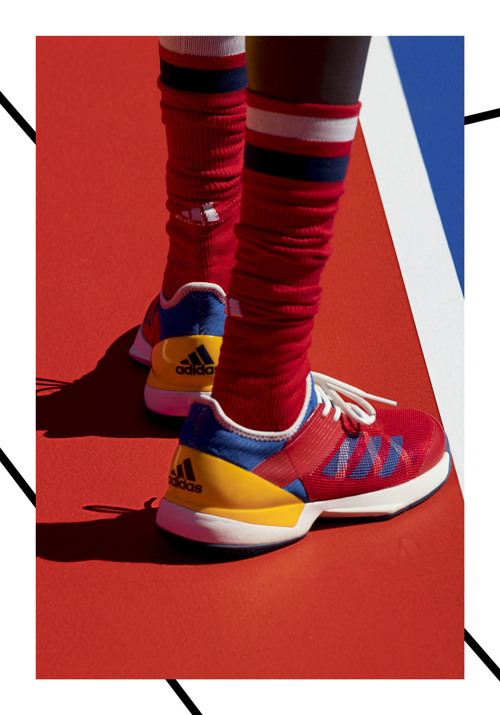 Pharrell Williams and adidas throwback to a golden era of